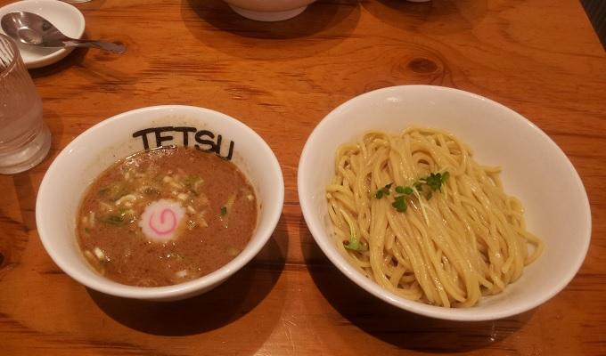【ラーメン】所沢駅内にある「つけめんTETSU エミオ所沢店」に行って来た。とんこつ×魚介のスープがうまかった。