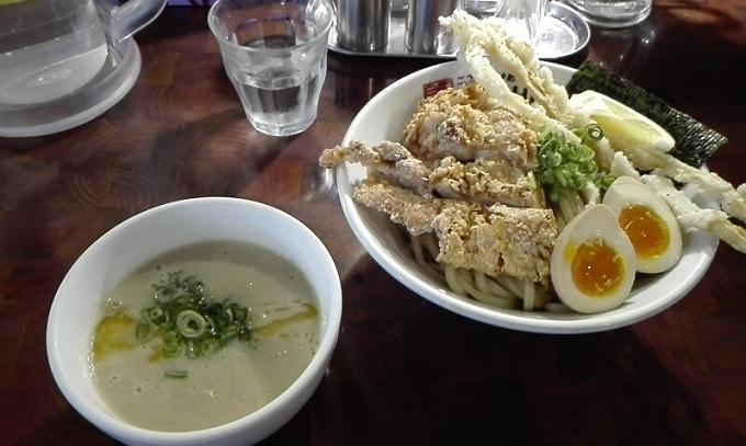 ワニ銀二丁目ガチつけ麺デラックス塩1