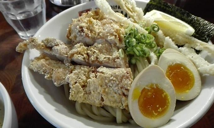 ワニ銀二丁目ガチつけ麺デラックス塩3