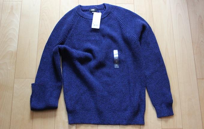 ワニ銀ららぽーと立川立飛でユニクロのセーター買った