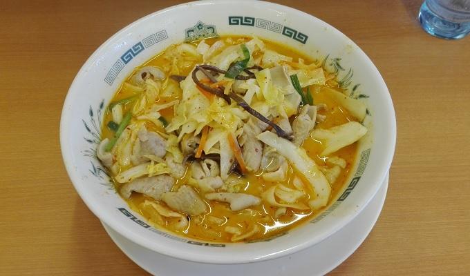 ワニ銀日高屋もつ野菜ラーメン2