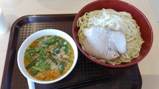 ららぽーと立川立飛の鏡花でたっぴつけ麺食べました!大盛りは超満足!スープは謎!