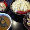 三田製麺所でつけ麺大盛りサービスセット食べて無料券もらってきた!ドロドロ感枯渇レベル!