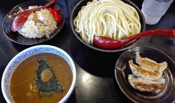 ワニ銀三田製麺所ラーメンつけ麺魚介サービスセット1
