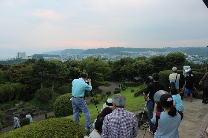 ワニ銀大磯城山公園ダイヤモンド富士9