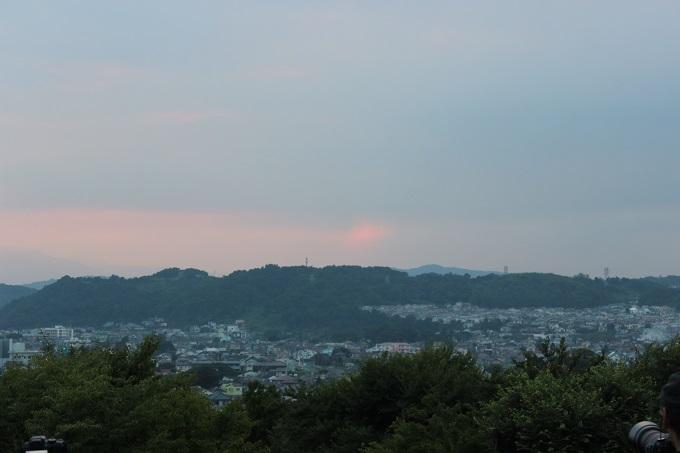 ワニ銀大磯城山公園ダイヤモンド富士10